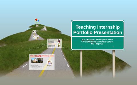 Teaching Internship Portfolio Presentation by Alexi Pranckus