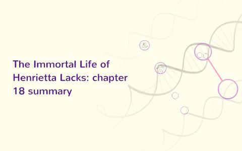 the immortal life of henrietta lacks chapter 10 summary