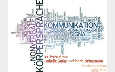 Kommunikation gestik nonverbale Nonverbale Kommunikation