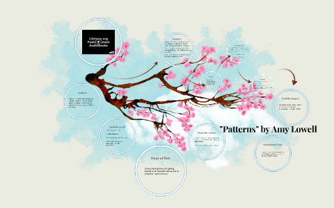 summary of the poem patterns by amy lowell