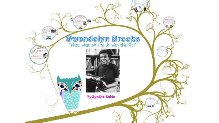 gwendolyn brooks to the diaspora