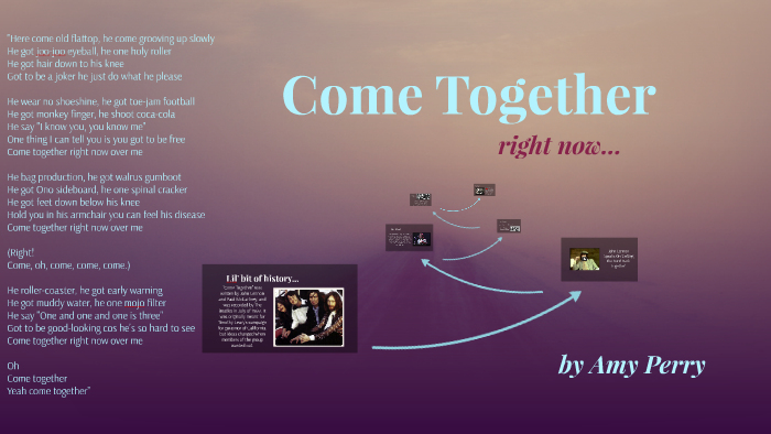 Come Together By Amy Welch On Prezi