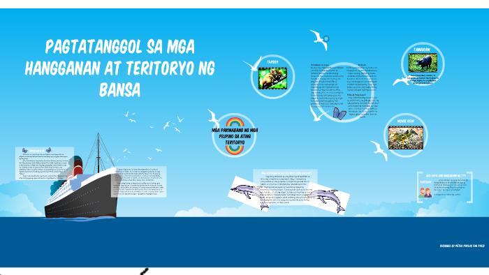 Pagtatanggol sa mga hangganan at teritoryo ng bansa by James