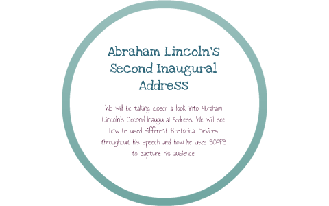abraham lincoln second inaugural address speech analysis