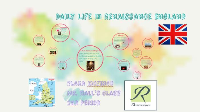 life in renaissance england