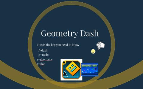 blue key geometry dash
