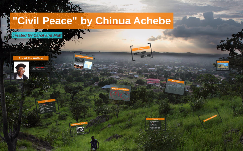 civil peace by chinua achebe analysis