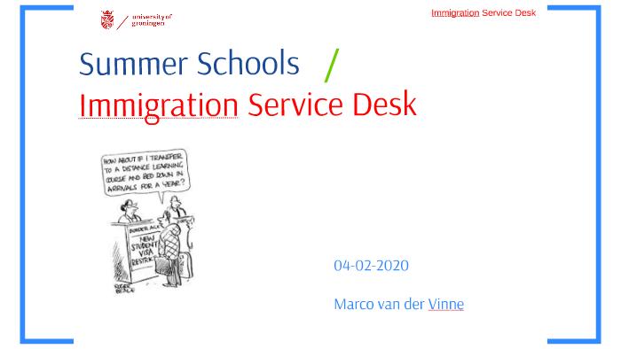 UoG Summer Schools / ISD by Immigration