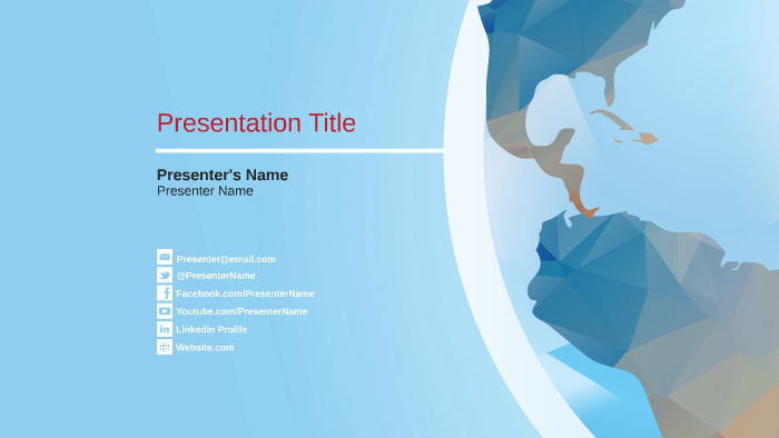 Prezi template design challenge winning templates prezi its a low poly world maxwellsz