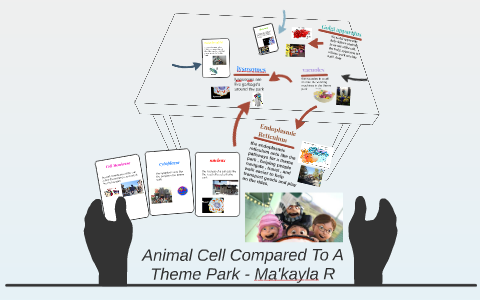Animal Cell Compared To A Theme Park By Makayla Rankin On Prezi