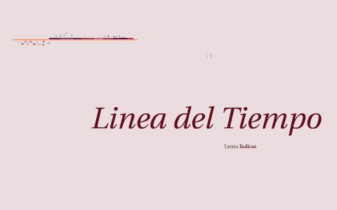Linea Del Tiempo By Laura Bolivar On Prezi