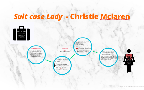 suitcase lady christie mclaren thesis