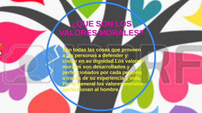 3071a4418816 ¿QUE SON LOS VALORES MORALES? by iris levario flores on Prezi