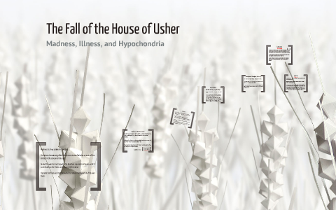 figurative language in the fall of the house of usher
