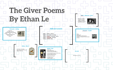 The Giver Poems By Ethan Le On Prezi