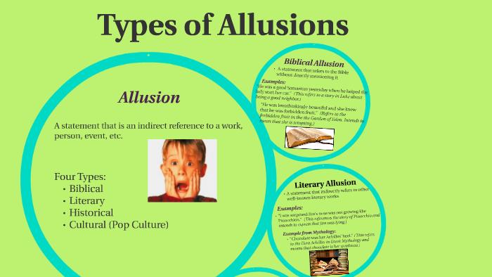 types of allusions by robin ventimiglia on prezi next