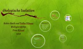 Okologische Isolation By Talha Yilmaz