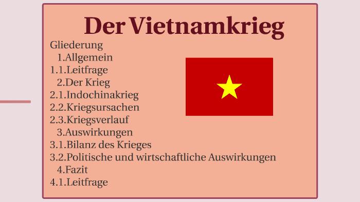 Vietnamkrieg Präsentation