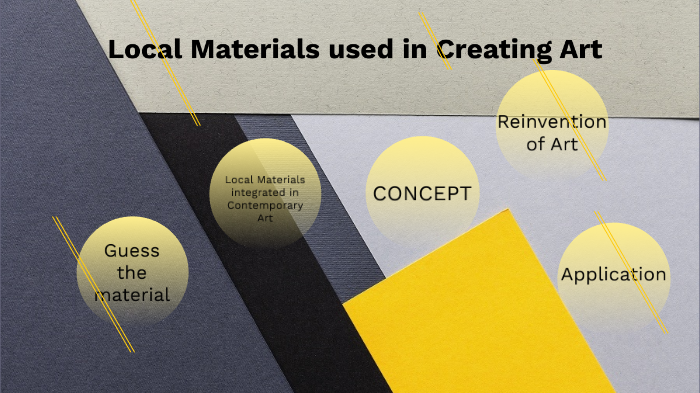 Local Materials Use In Creating Art By Dmk Asto On Prezi Next