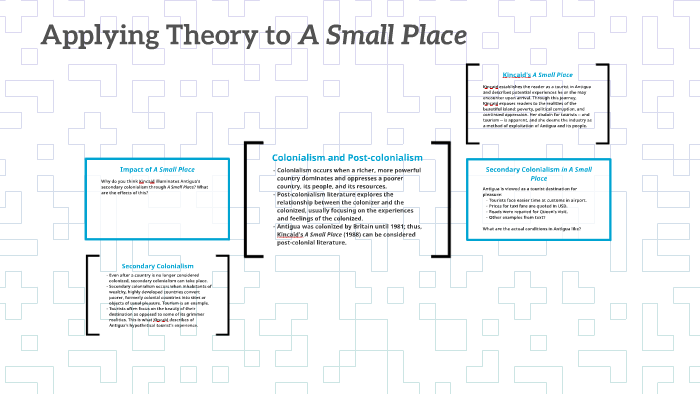 Postcolonialism and A Small Place by Haley Cadle on Prezi