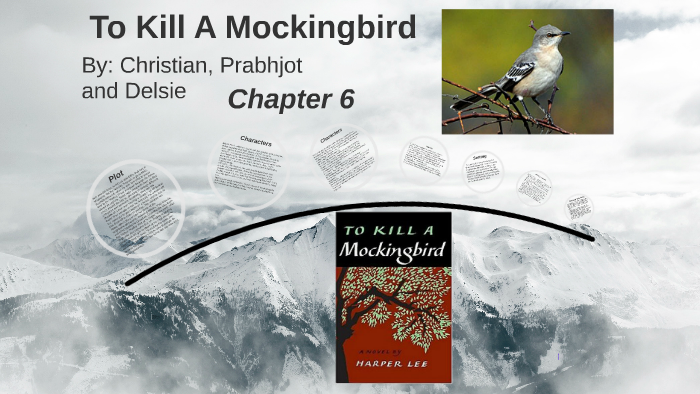 examples of literary devices in to kill a mockingbird