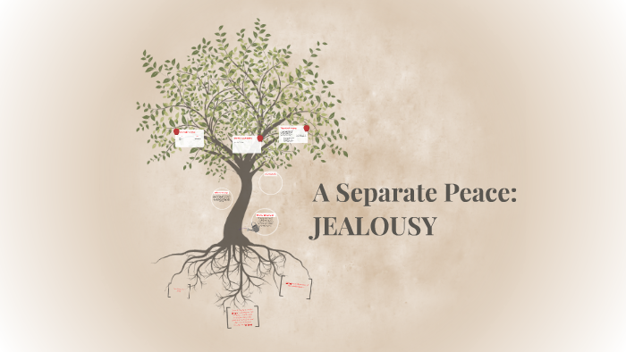jealousy in a separate peace