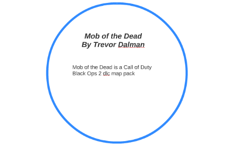 Mob of the Dead by Trevor Dalman on Prezi Call Of The Dead Map Pack on call of the dead zombies, call of duty zombies map pack, call of the dead game, call of duty black ops map pack, call of the mob, call of the dead minecraft, call of the dead movie,