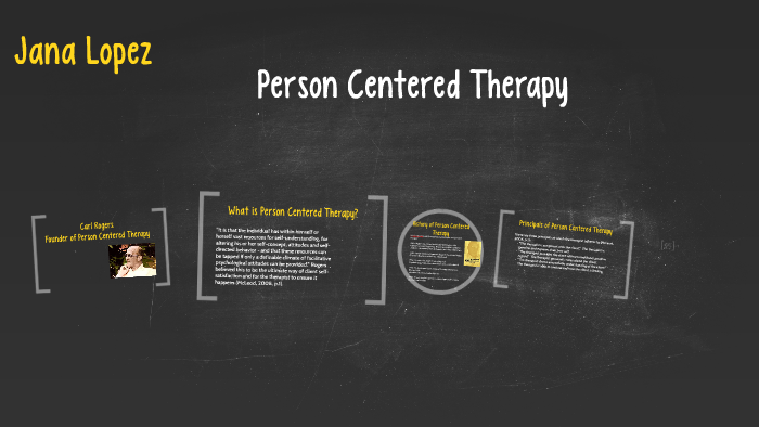 Person centered counseling examples described as a quizlet live