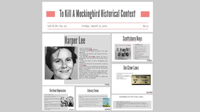 to kill a mockingbird context