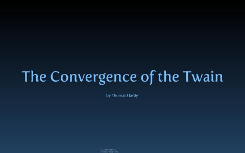 thomas hardy the convergence of the twain