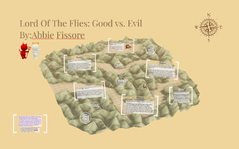 good and evil lord of the flies