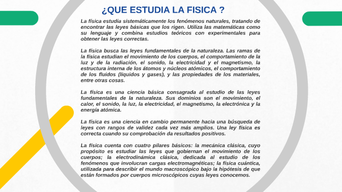 Introduccion A La Fisica By Sebastian Alzate On Prezi