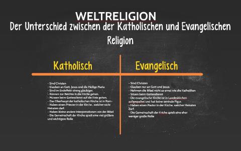 Unterschiede Zwischen Evangelisch Und Katholisch
