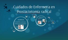 cancer de prostata complicaciones)