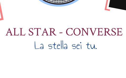 all star converse invecchiate