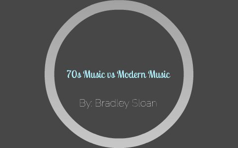 70s Music vs Modern Music by Last Name Ever First Name