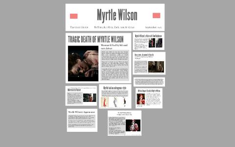 myrtle wilson death