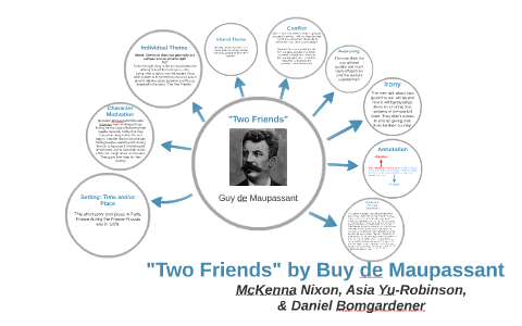 two friends by guy de maupassant characters
