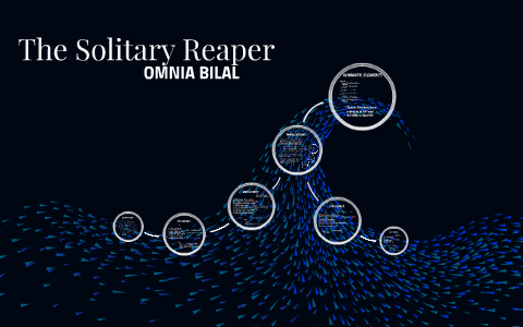 the solitary reaper meaning line by line