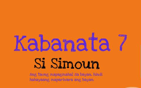 kabanata 7 - filipino by Trisha Allaine on Prezi