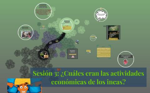 Sesión 3 Cuáles Eran Las Actividades Económicas De Los Inc