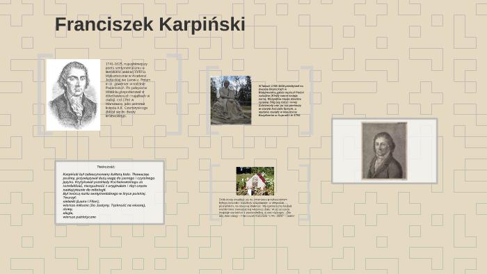 Franciszek Karpiński By Nicole Arbuszewicz On Prezi