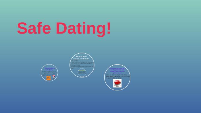 definition of safe dating