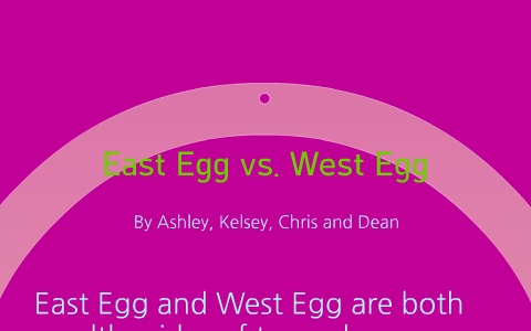 what is the difference between east and west egg