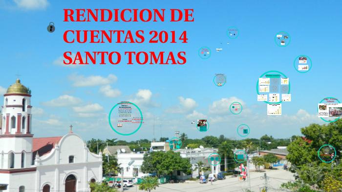 Rendición de Cuentas 2014 Santo Tomás Atlántico by FRENSIS