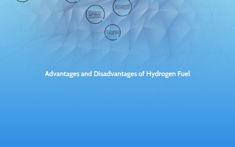 The advantages and disadvantages of Hydrogen Fuel by