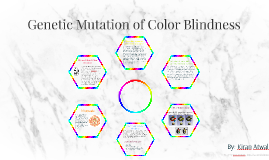 Genetic Mutation Of Color Blindness By Kiran Atwal