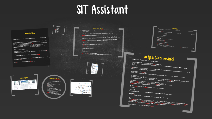SIT Assistant by vineeth prathap on Prezi