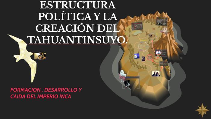 ESTRUCTURA POLÍTICA Y LA CREACIÓN DEL TAHUANTINSUYO  by
