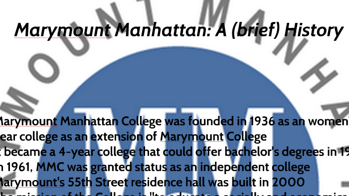 Why You Should Attend Marymount Manhattan College By Jenn Watson On